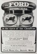 1904 Ford Motor Car Ad ~ Eyes of the Chauffeur
