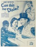 1937 Can This Be Dixie Movie Ad ~ Jane Withers