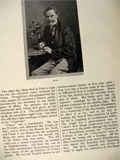 1880 Cham Amedee-Charles Henri Comte de Noe ~ Old Magazine Article ~ Illustrated