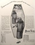 1926 Bonton Corset & Girdle Ad ~ See Yourself From Behind