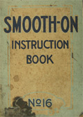 1910's Smooth-On Construction Cement Instruction Booklet