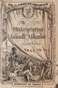 1884 Dr. Phelps Brown's Medicine ~ Shakespeare Alamanac ~ Utica, NY