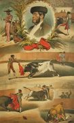 La Lidia Antique Bullfighting Print ~ Manuel Dominguez