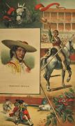 La Lidia Antique Bullfighting Print ~ Francisco Sevilla