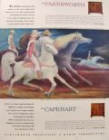 1946 Farnsworth & Capehart Phonograph Ad ~ William Palmer Art