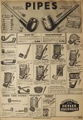 1934 Vintage Pipe Ad ~ Vintage Penny Candy Ad from Catalog