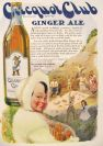 1920 Clicquot Club Ginger Ale Ad ~ Hungry Picnickers