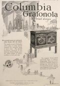 1919 Columbia Grafonola Ad ~ Period Designs