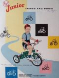 1957 AMF Bicycle Tricycle Brochure ~ Wholesale