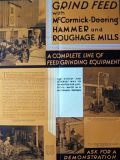 1930's McCmormick Deering Hammer & Roughage Mills Poster