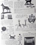 Vintage 1930's Iron Works Pamphlet ~ Weathervanes, Door Stop, etc.