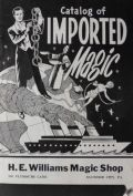 1955 Vintage Catalog of Imported Magic Tricks
