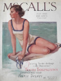 1932 McCall's Magazine Cover ~ Swimsuit Woman, Neysa McMein