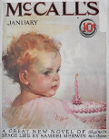 1925 McCall's Magazine Cover ~ Neysa McMein ~ Baby's First Birthday