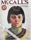 1924 McCall's Magazine Cover ~ Chinese American Woman