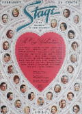 1937 Stage Magazine Cover ~ Valentine's Day