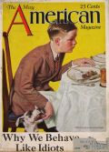 1926 American Magazine Cover ~ Walter Beach Humphrey ~ Boy Feeds Dog
