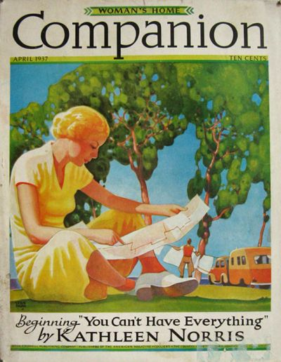 1937 Woman's Home Companion Cover ~ Leslie Ragan