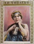 1909 Le Theatre Magazine Cover ~ Madeleine Dolley Photo