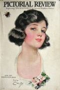 1921 Pictorial Review Cover ~ Earl Christy ~ Woman with Ladybug