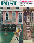 1961 Saturday Evening Post Cover ~ John Falter