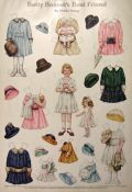 1916 Betty Bonnet's Best Friend Paper Dolls