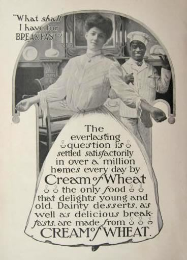 1904 Cream of Wheat Ad ~ What Shall I Have for Breakfast?