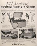 1960 GE All In One Stereo Ad