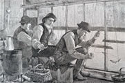 1886 Smelt Fishing Antique Print & Article ~ Harper's Weekly