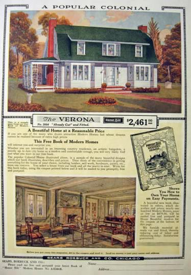1919 sears honor bilt modern homes ad building kit for Home building magazines