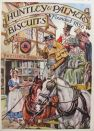 1941 Huntley & Palmers Biscuits Ad ~ People on Horses