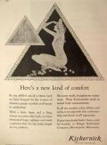 1930 Kickernick Undergarments Ad ~ New Kind of Comfort