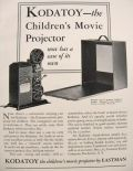 1931 Kodak Ad ~ Kodatoy Children's Movie Projector