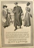 1908 Kuppenheimer Men's Fashion Ad ~ Watershed Raincoat