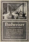 1907 Budweiser Beer Ad ~ Served in the Best Hotels