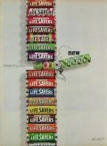 1964 Lifesavers Candy Ad ~ Icy, Spicy Mints