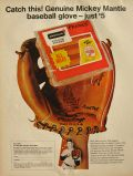 1967 Armour Franks Ad ~ Mickey Mantle Baseball Glove Offer