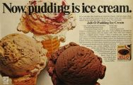 1967 Jello Pudding Ad ~ Ice Cream Recipe