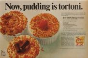 1968 Jello Pudding Ad ~ Tortoni Recipe
