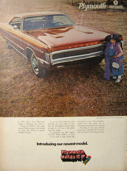1970 Plymouth Sport Fury Ad