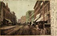 Helena, MT Postcard ~ Main Street Looking South