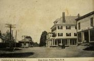 Main Street, Potter Place, NH Postcard