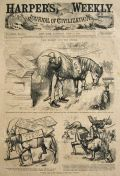1874 Harper's Weekly Cover ~ Thomas Nast Uncle Sam
