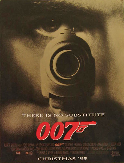 James Bond GoldenEye 1997 Vintage Movie Ad