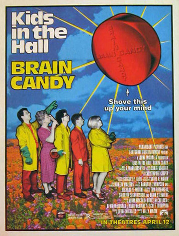 Kids in the Hall Brain Candy 1996 Vintage Movie Ad
