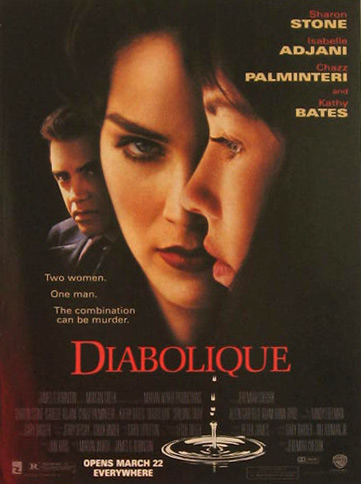 Diabolique, Sharon Stone 1996 Vintage Movie Ad