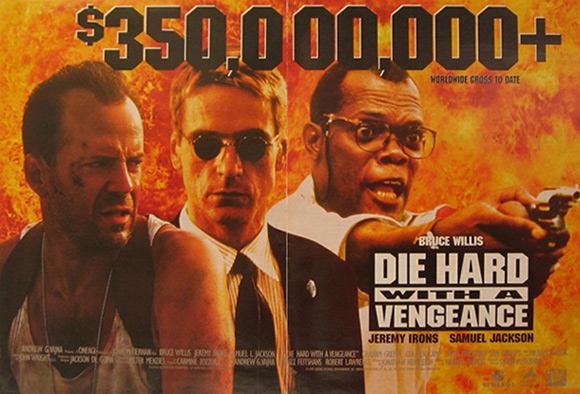 Die Hard with a Vengeance 1995 Movie Ad