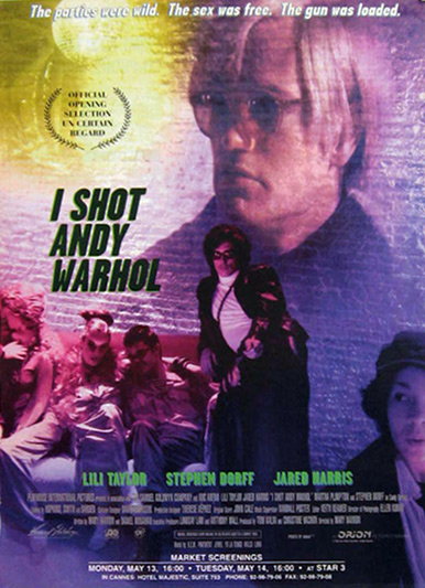 I Shot Andy Warhol 1996 Vintage Movie Ad