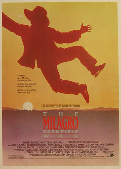 The Milagro Beanfield War 1988 Vintage Movie Ad