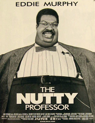 The Nutty Professor Eddie Murphy 1996 Movie Ad